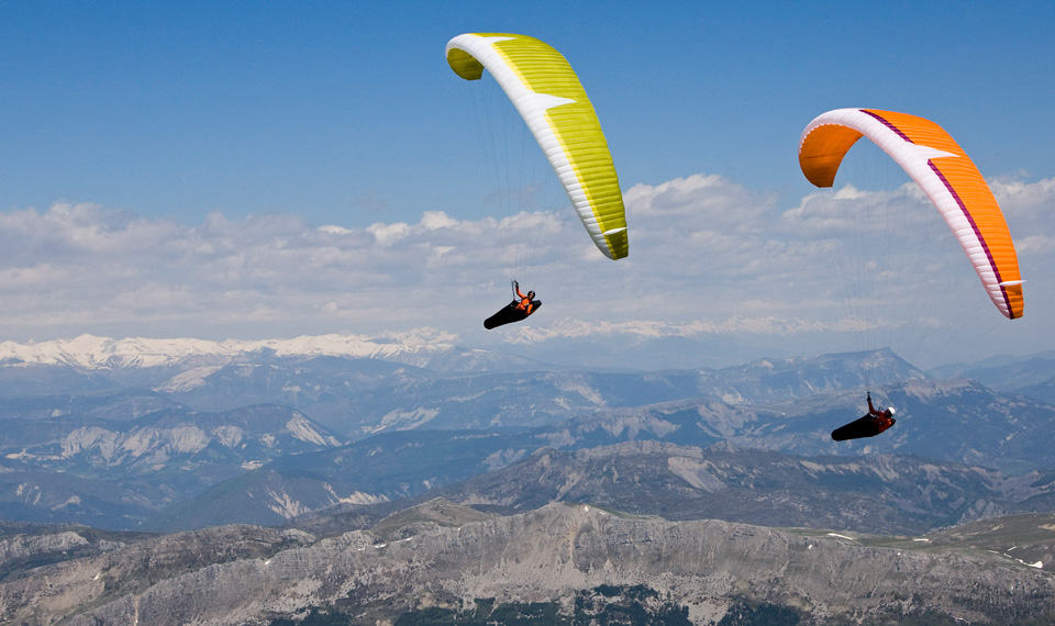 Combined Beginner Novice Paragliding Course
