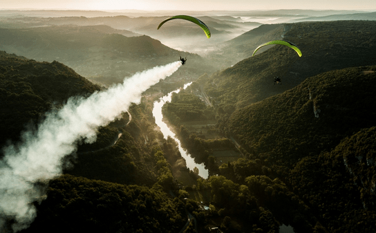 Falcon Paraglider by Gin