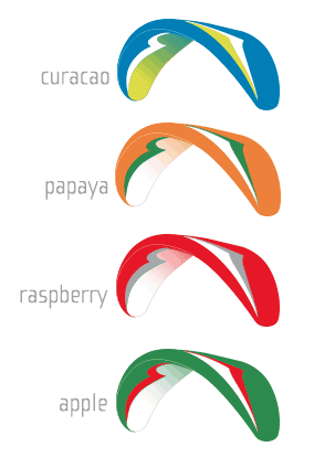 Atlas 2 Paraglider Colors
