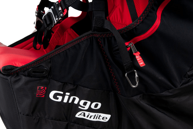 Gin Paragliding Harness Gingo Airlite 4