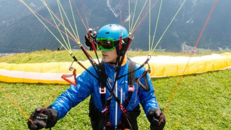 Peak to Peak Paragliding Classes and Equipment