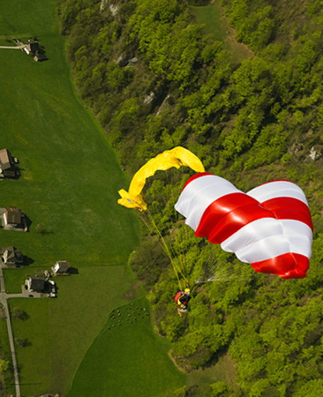 Beamer 3 Reserve Parachute sold by Peak to Peak Paragliding