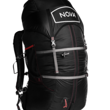 Nova Inverto Lightweight Backpack sold by Peak to Peak Paragliding