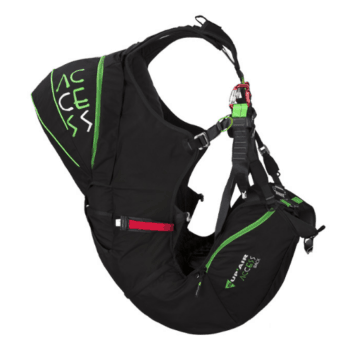 Supair paragliding harness for sale access back