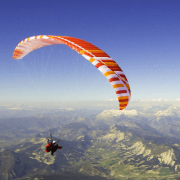 Dual lite tandem paraglider for sale