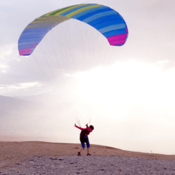 BGD Seed Kitting Paraglider