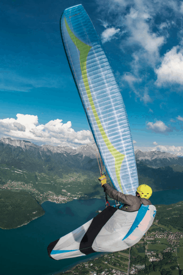 Stay Up Paragliding Harness