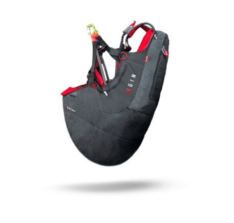 Verso 3 Gin Paragliding Harness