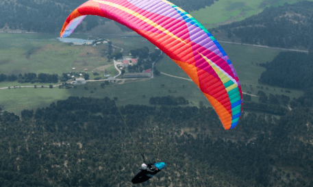Bruce Goldsmith Design Paraglider Cure 2