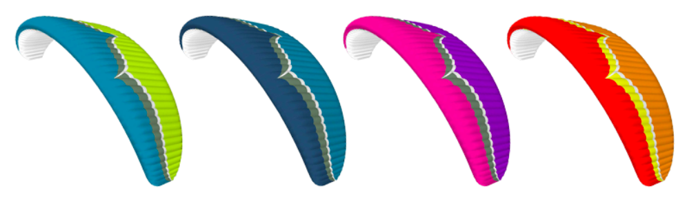 Color Options Ozone Paraglider Buzz Z6