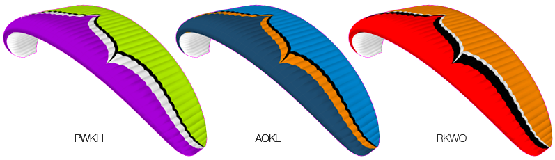 Ozone Tandem Wing Colors