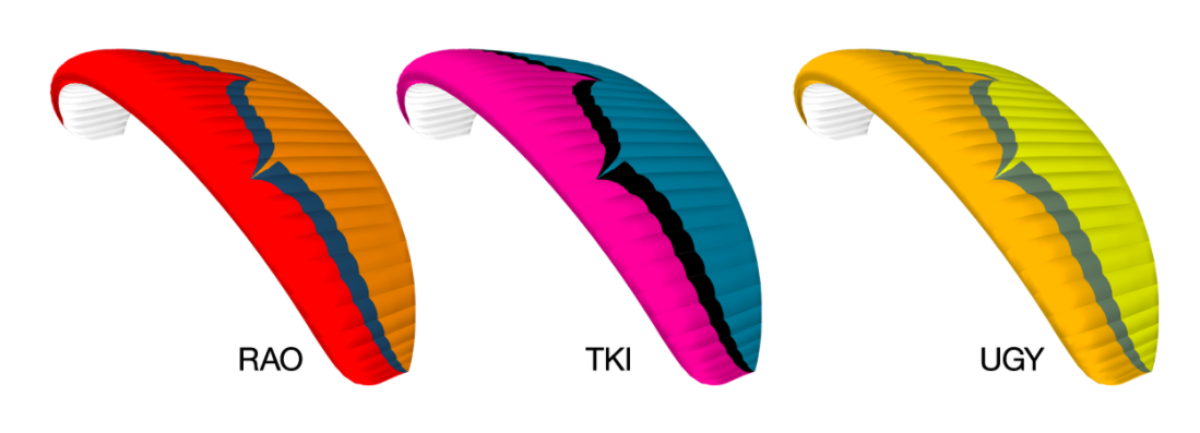 Ozone Power Paraglider Color Choices