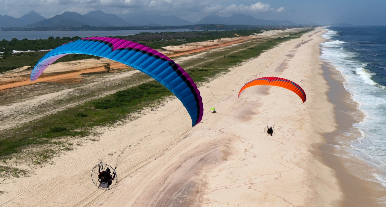 Paramotor Wing from Ozone